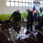 prezident Klaus v továrně Kaipan